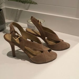 Michael Kors suede sandal